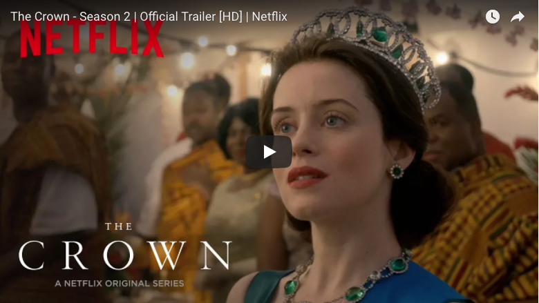 The Crown Season Two Official Trailer