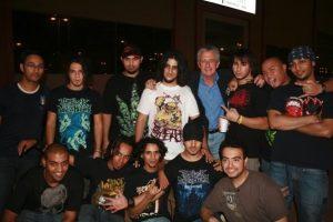 Robert Lacey + heavy metal kids