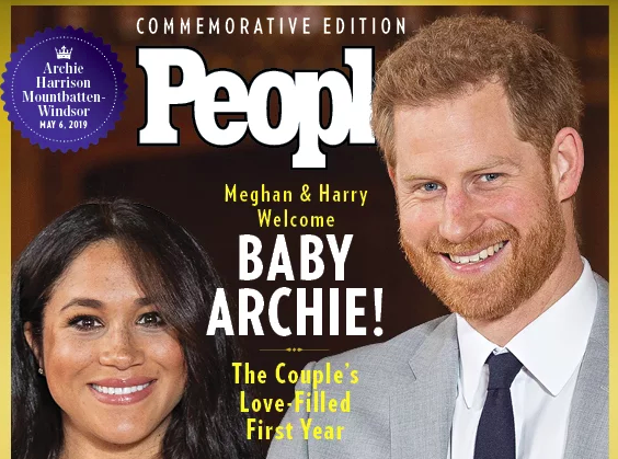 People magazine special edition for Baby archie