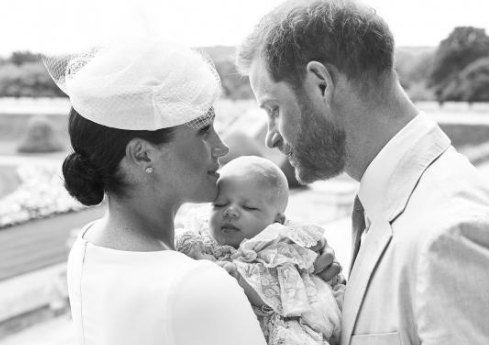 christening of archie mountbatten. Photo credit: Chris Allerton ©️SussexRoyal