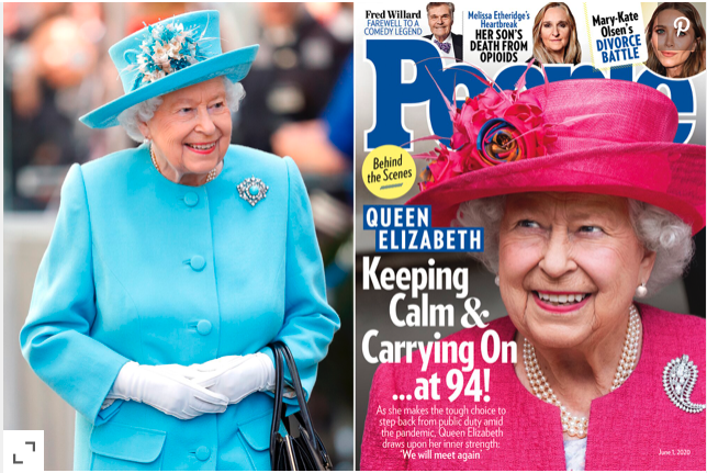 The Queen - people magazine
