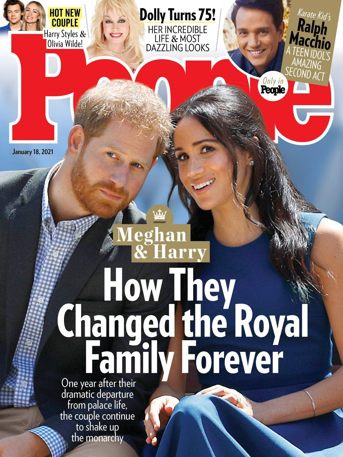 Harry and Meghan - People cover
